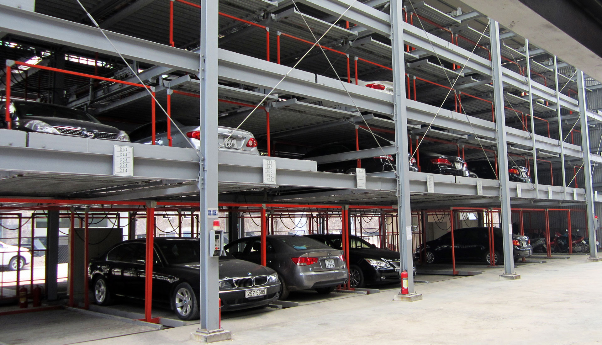 puzzle mechanical parking system